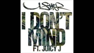 Usher - I Don&#39t Mind ft Juicy J Instrumental With Hook (Official)