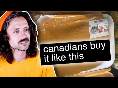 the TRUTH about Canadian peanut butter #shorts