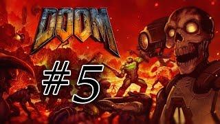 Прохождение Doom 5 Отключение аргент-башни