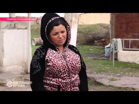 Таджикская женщина родила