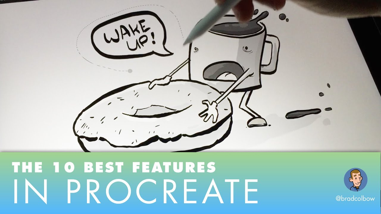 Drawing Straight Lines With Procreate : Procreate s best features draw straight lines paint bucket