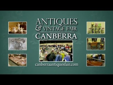Canberra Antiques and Vintage Fair 2016