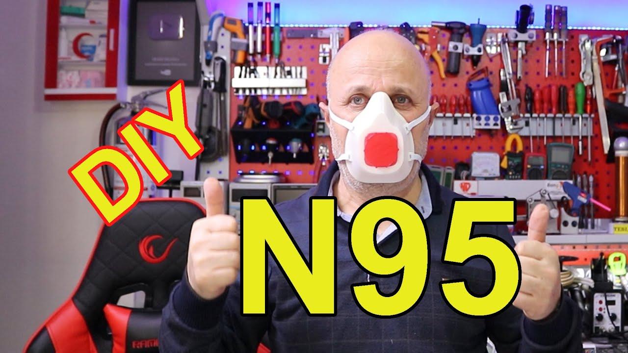 3D Yazıcı İle N95 Maske Nasıl Yapılır   Siper Maske Yapımı