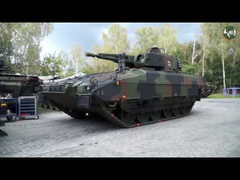Puma IFV Infantry Fighting Vehicle production line Rheinmetall Unterlüß Germany