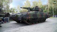 Puma IFV Infantry Fighting Vehicle production line Rheinmetall Unterlüß Germany