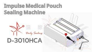 Impulse medical pouches sealer