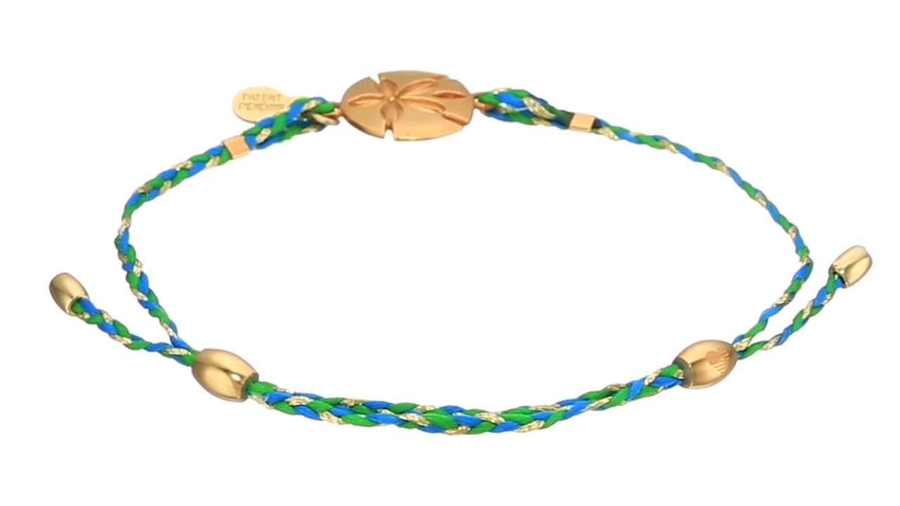 Alex And Ani Precious Thread Sand Dollar Bracelet Sku:8769343