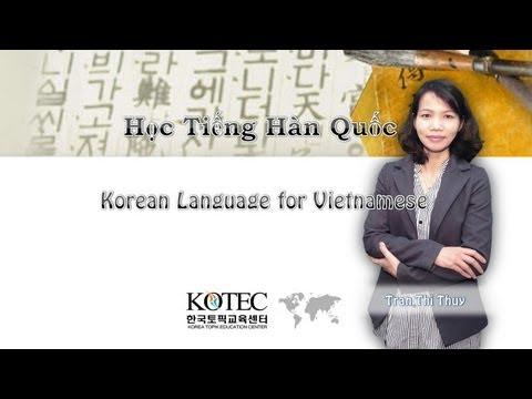 [Korean]Tiếng Hàn sơ cấp dành cho người Việt .