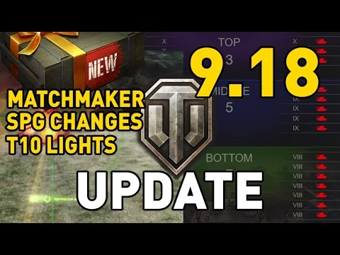 World of Tanks || Update 9.18 - New Content!