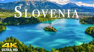 FLY NG OVER SLOVEN A 4K UHD - Amazing Aerial Views Of The Earth From Above With Relaxation Music