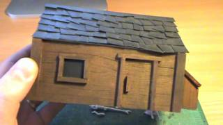 Building Balsa Wood Houses