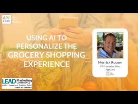 Personalizing the Grocery Shopping Experience with AI
