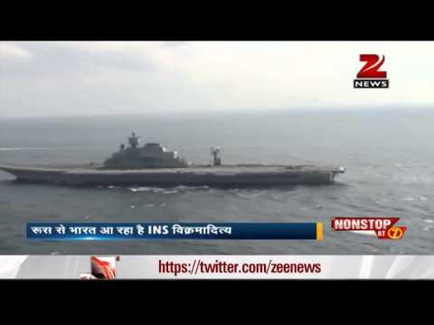 INS Vikramaditya reaches Indian territory, enters Arabian sea