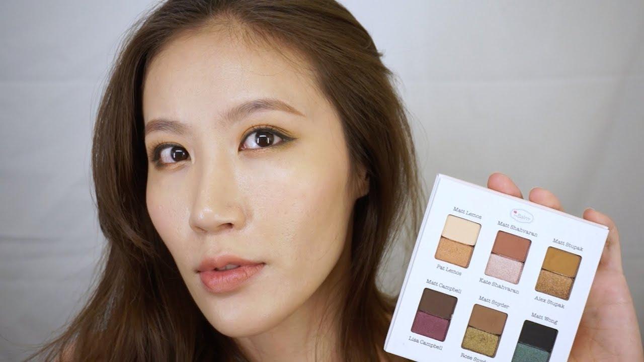 Celeste Wu 大沛   Meet Matt(e) Shmaker 眼影盤妝容分享 - YouTube