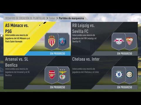 SBC   PARTIDOS DE MARQUESINA   JUGADOR DE LOS TORNEOS GARANTIZADO   FIFA 17   ZIVANX