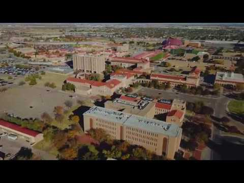 Texas Tech University in Lubbock Texas Game Day!