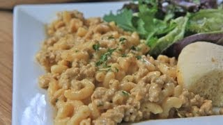 Homemade Hamburger Helper Recipe: Cheeseburger Macaroni