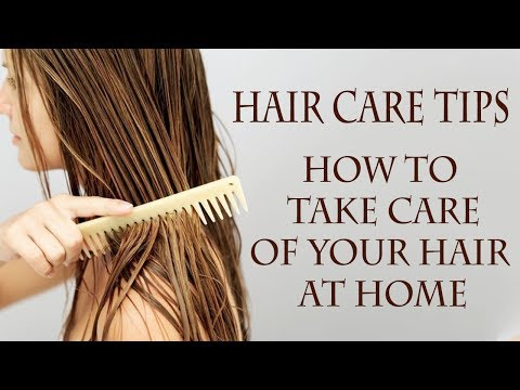 Hair Care Tips Top 30 Simple Home Remedies To Maintain Healthy Hair At Home Long Shiny Hair Youtube