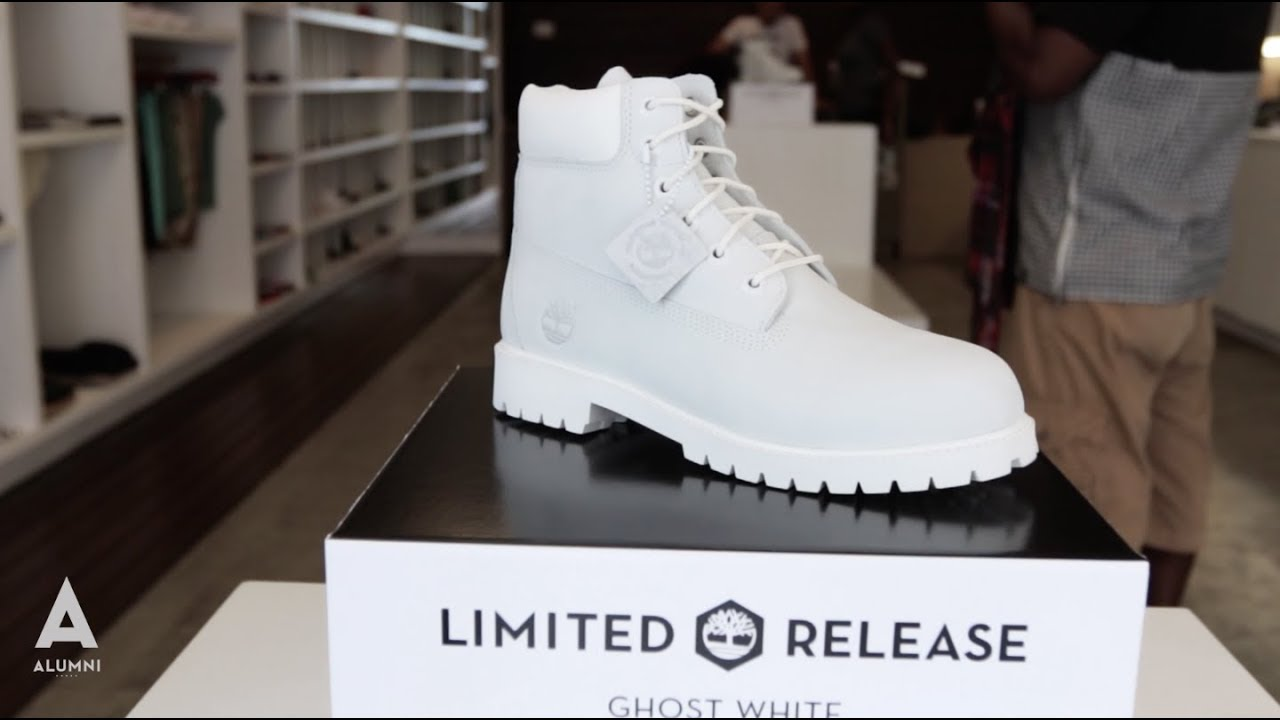 ALUMNI - TIMBERLAND GHOST WHITE RELEASE - YouTube b745823d2