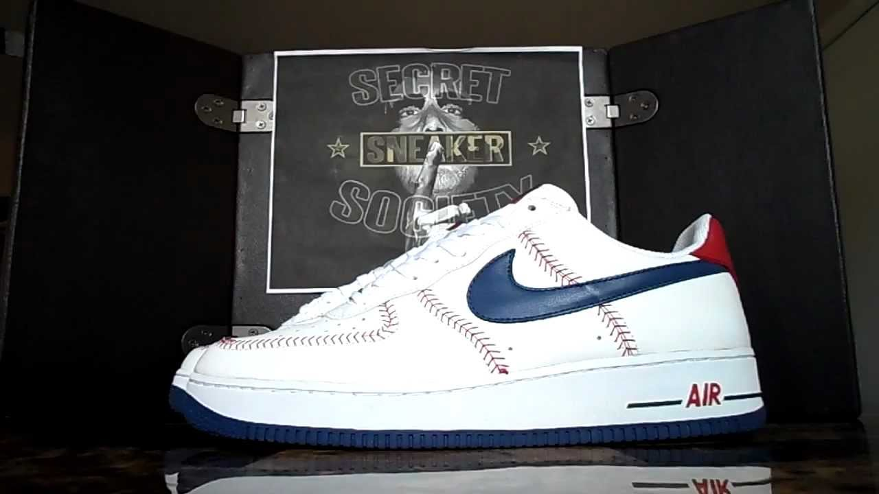 nike cleats baseball air force one low