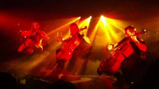 Apocalyptica Nothing Else Matters 3/16/11
