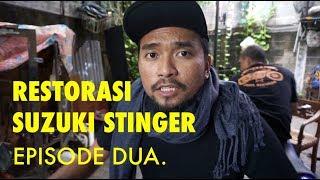 NENGOK MOTOR MALAH BANJIR! - RESTORASI SUZUKI STINGER - EPS.02
