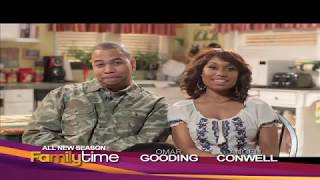 Family Time: Omar Gooding and Angell Conwell