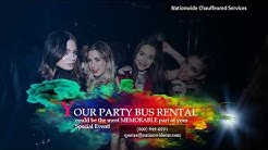 How Much Does it Cost to Rent a Party Bus Rental?  (800) 942-6281