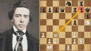 A New Opponent! - What's His Power Level?? || Morphy vs Harrwitz (1858)