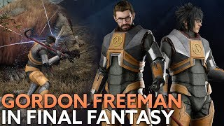 Gordon Freeman is returning to PC in Final Fantasy XV