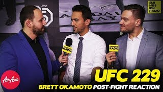 REACTION | Brett Okamoto on UFC 229, Khabib Post-Fight Brawl And What's Next