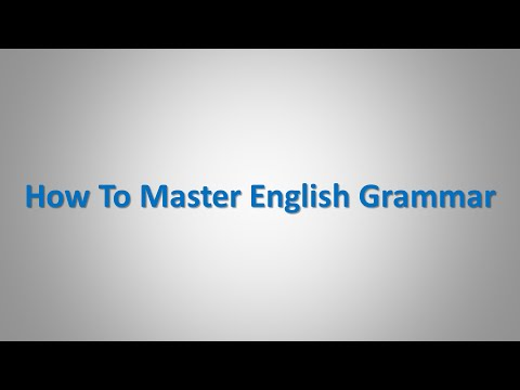How To Improve English Grammar When Speaking English
