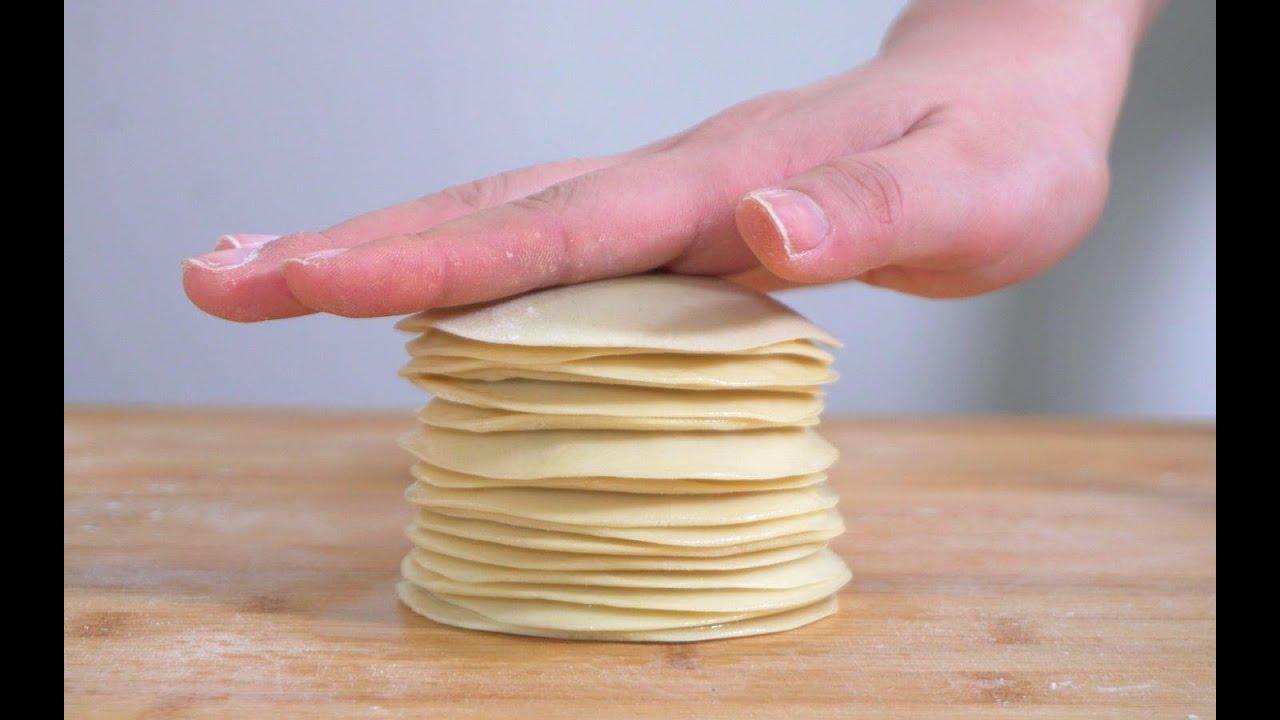 独家春饼做法,一次擀出17张,10分钟出一大盆,柔软劲道,不破皮