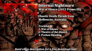 Internal Nightmare - War of Silence (2012 Promo EP)