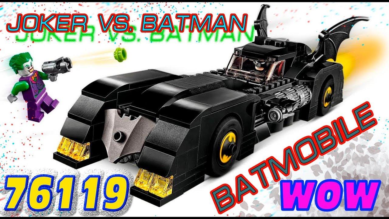 Lego DC Super Heroes 76119 Batmobile  Pursuit of The Joker - UNBOXING