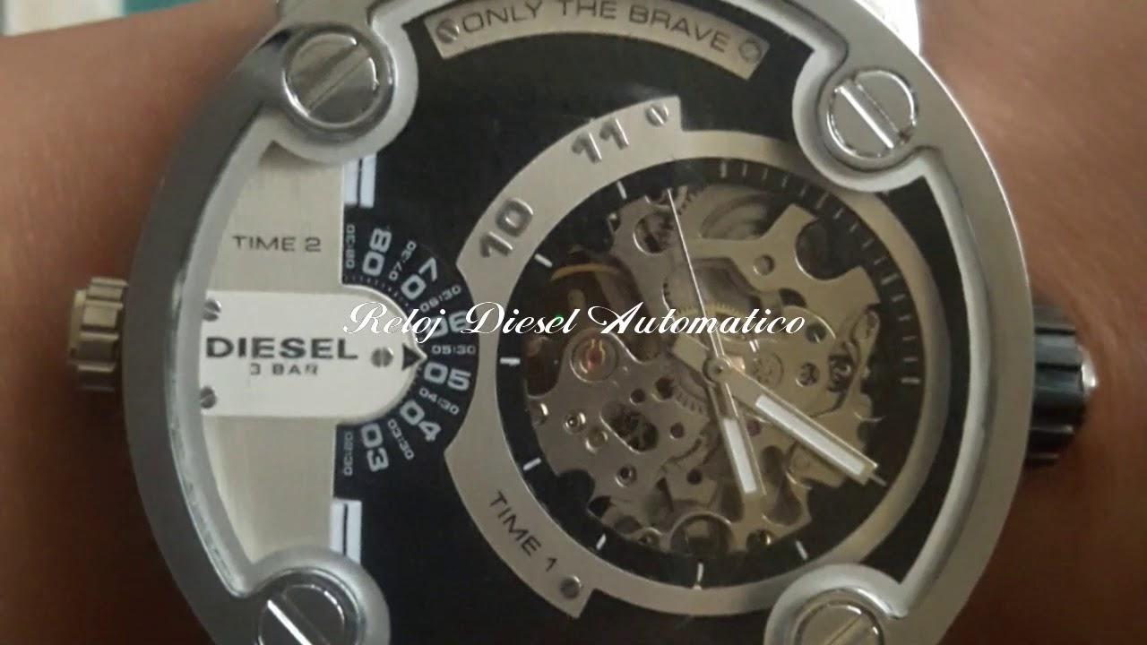 030fc11bd43b Reloj Diesel Automatico - YouTube