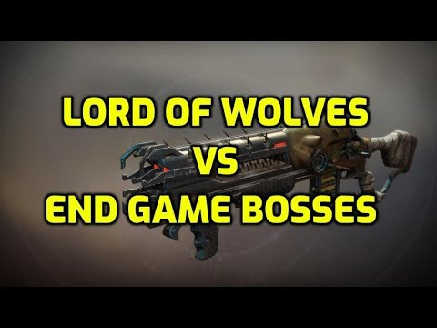 Destiny 2 - Lord Of Wolves vs End Game Bosses (Shattered Throne, Last Wish, Gambit Prime) thumbnail