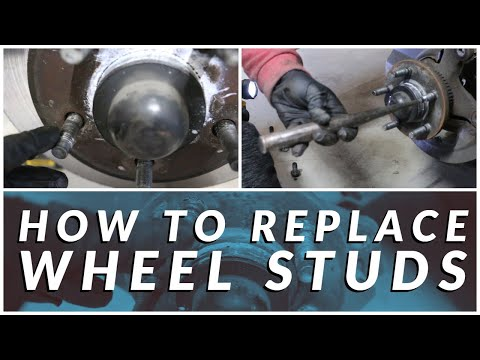 How to Replace Wheel Studs |  2000 Mercury Grand Marquis