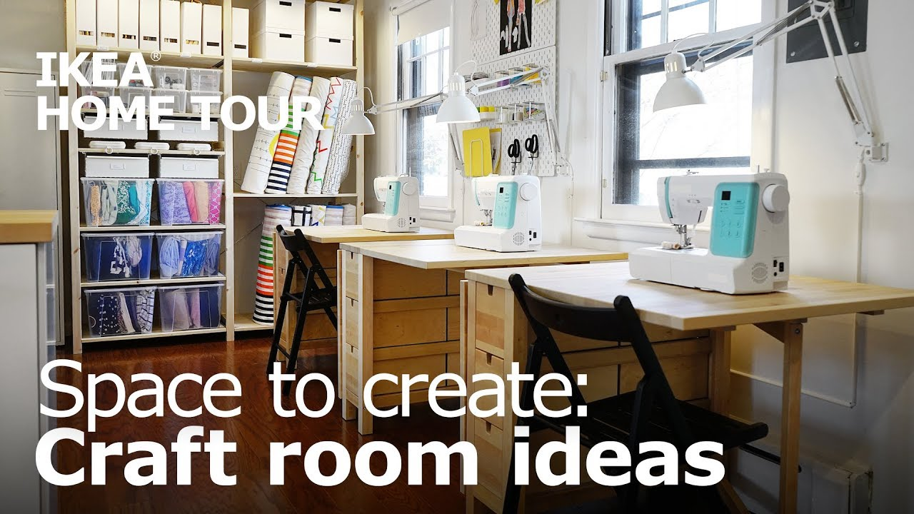 Craft Room Ideas For A Bonus Room Ikea Home Tour Episode 406