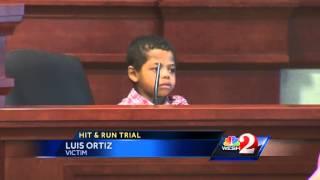 Child victim testifies in Deltona hit-and-run trial