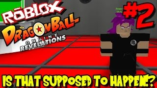 IS THAT SUPPOSED TO HAPPEN?!? | Roblox: Dragon Ball Online Revelations UPDATE - Episode 2