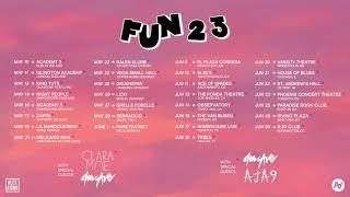 Alex Aiono Fun23 Tour (Promo Animation)