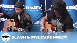Slash & Myles Kennedy - Sweet Child O' Mine (ACOUSTIC) | SiriusXM | Octane