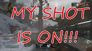 MY SHOT IS ON!!-CALL OF DUTY WW2