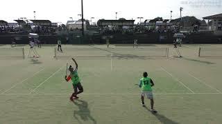 2018ソフトテニス ジュニア ジャパンカップ Step4 U-17 男子ダブルス予選 17-18