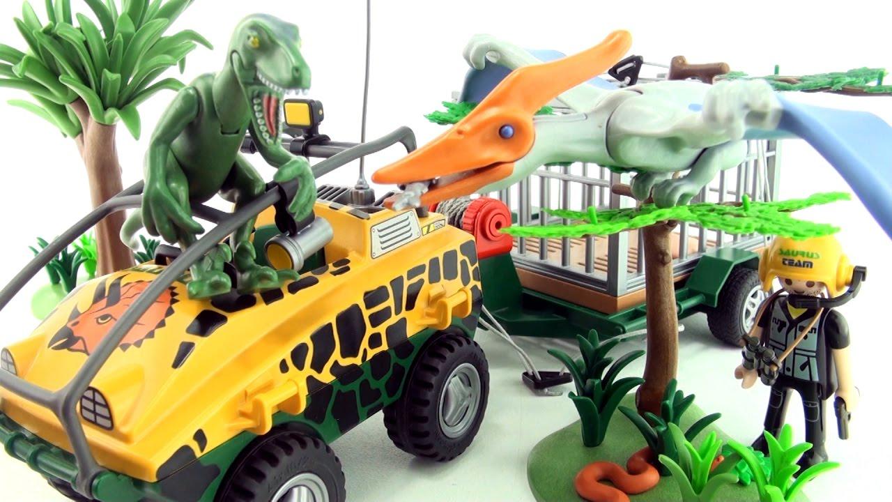 Playmobil dinosaurs pteranodon deinonychus playmobil - Dinosaur playmobile ...
