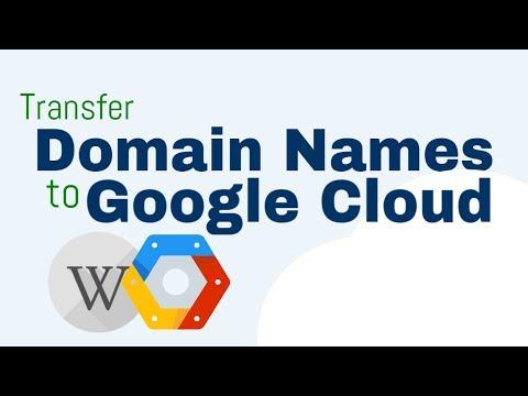How To Transfer WordPress Domain Name to Google Cloud Hosting