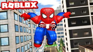 BECOMING ROBLOX SPIDER-MAN!!