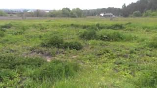 Видео с велосипедами.  Прогулка на велосипеде по лугам и полям Бучи(Пишут