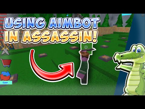 AIMBOT IN ASSASSIN!    ROBLOX EXPLOITING VIDEO #26